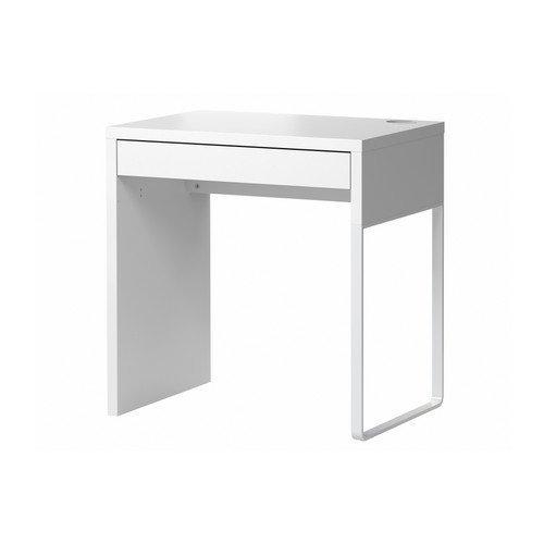 IKEA 302-130-76 Micke-Bureau rectangulaire, 73cm x 50cm, blanc