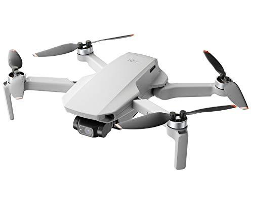 DJI Mini 2 - Quadcopter Drone ultraligero y plegable, cardán de 3 ejes con cámara 4K, foto de 12MP, 31 minutos de vuelo, transmisión de video OcuSync 2.0 HD, Mavic Mini, QuickShots con la aplicación DJI Fly
