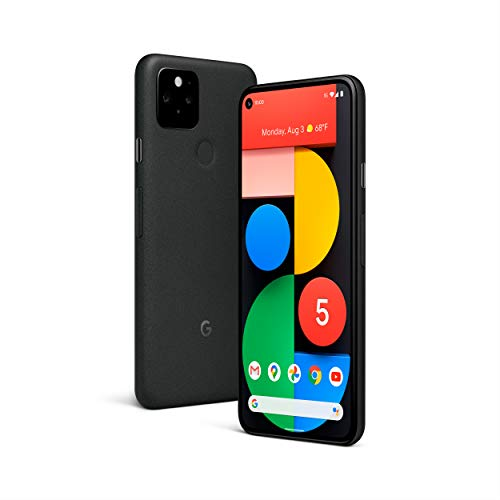 Smartphone móvel 5G desbloqueado Google Pixel 5 (tela 6