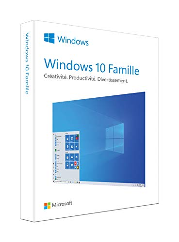 Microsoft Windows 10 Famille | P2 32-bit/64-bit | French | USB