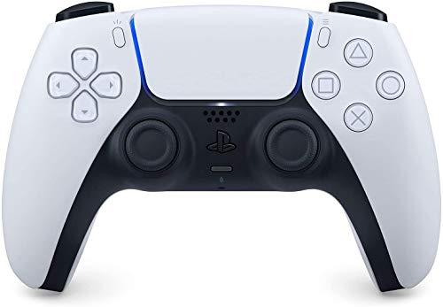 Mando oficial de PlayStation 5 DualSense, Inalámbrico, Batería recargable, Bluetooth, Compatible con PS5, Color: Dos tonos