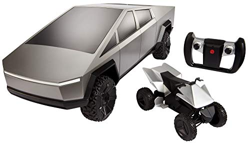 Hot Wheels RC voiture télécommandée Tesla Cybertruck échelle 1:12, jouet pour enfant dès 5 ans, GYD25