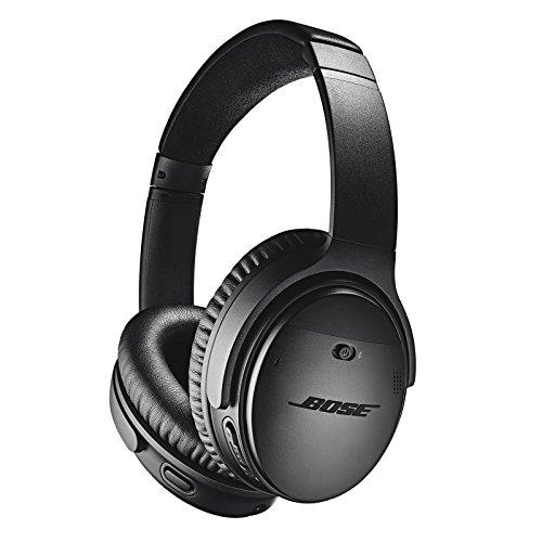 Casque Bluetooth sans fil Supra-Aural Bose QuietComfort35II avec Microphone Intégré pour le Contrôle Vocal via Alexa, Noir
