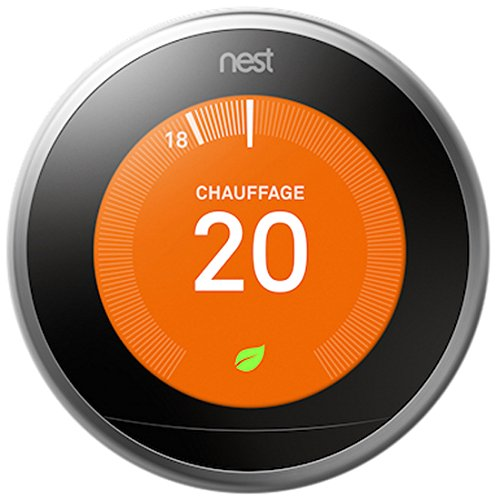 le thermostat connect nest d sormais compatible avec le. Black Bedroom Furniture Sets. Home Design Ideas